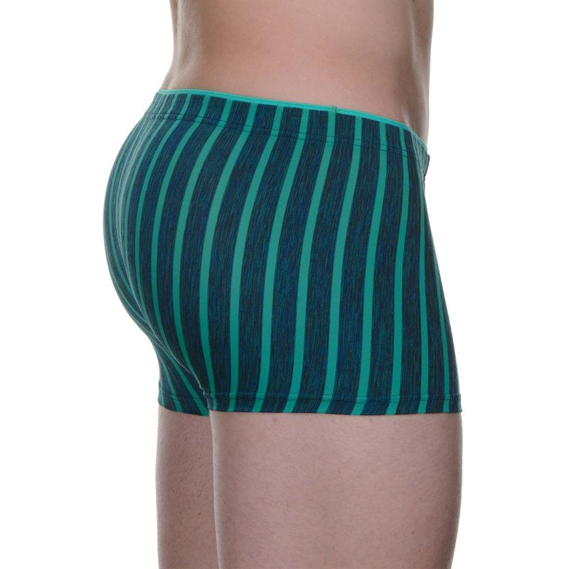 Bruno Banani Boxershorts Pants HIP Shorts STRIPES JAIL grün Limited Edition