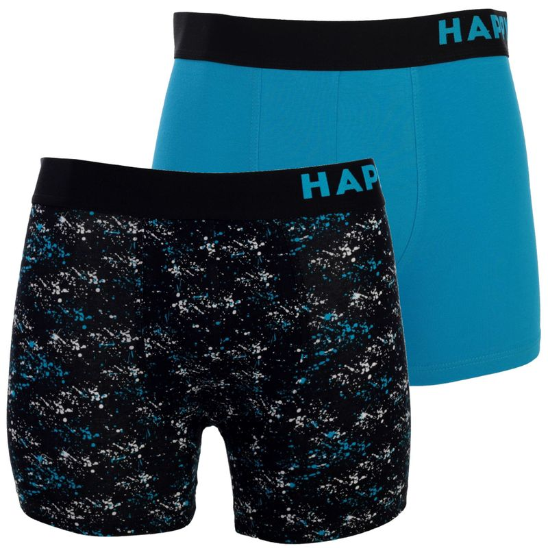 2er Pack HAPPY SHORTS Jersey Boxershorts D12