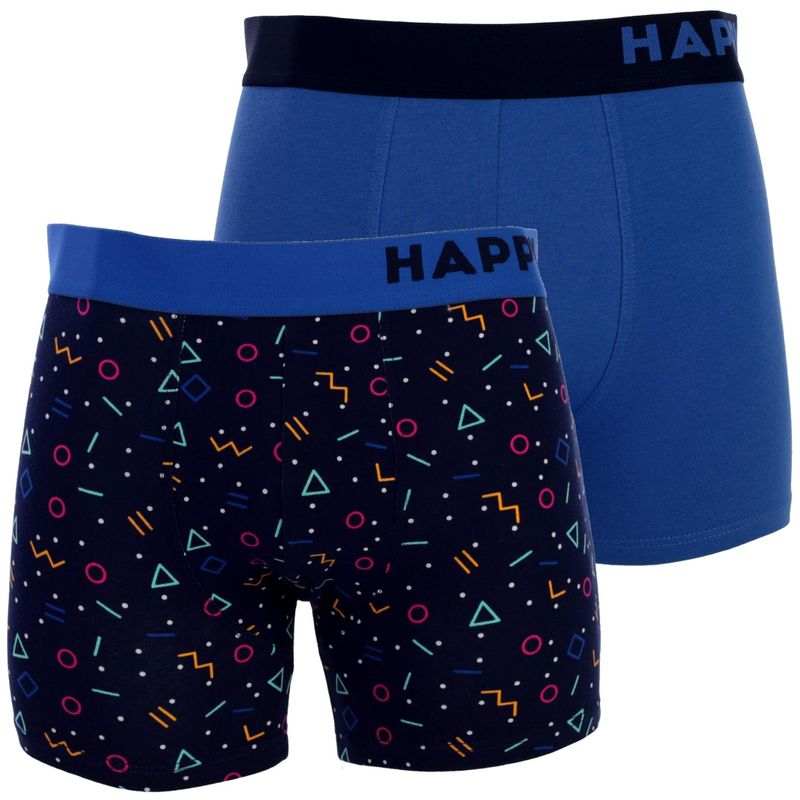 2er Pack HAPPY SHORTS Jersey Boxershorts D13