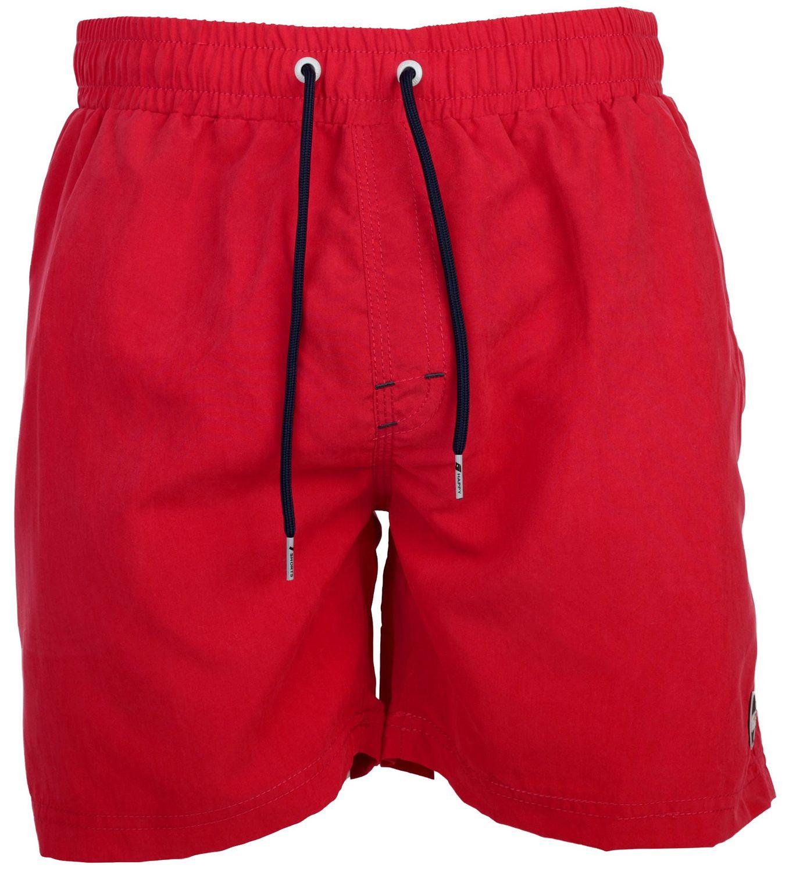 offizielle Seite populärer Stil schnüren in HAPPY SHORTS Herren Badeshorts Strandshorts Shorts Badehose uni rot S - XXL  | Happyshorts