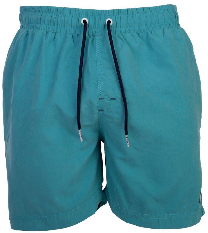 HAPPY SHORTS Herren Badeshorts Strandshorts Shorts Badehose solid mid blue S - XXL