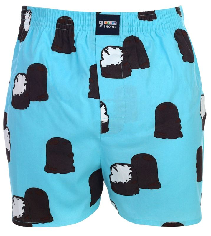 "Happy Shorts Boxer Boxershorts Shorts Webboxer ""chocolate marshmallow -  Schokokuss"""