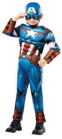 Captain America Deluxe Kostüm Kinder