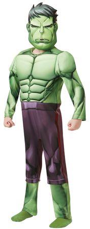 Hulk Kostüm Deluxe Kinder