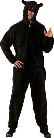 Schaf-Overall schwarz (Damen) – Bild 1