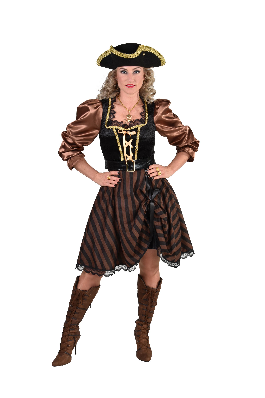 Piratin-Kleid braun bei Party Schlaudt Wiesbaden kaufen