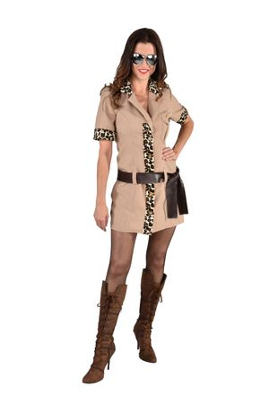 Safari Girl Kleid
