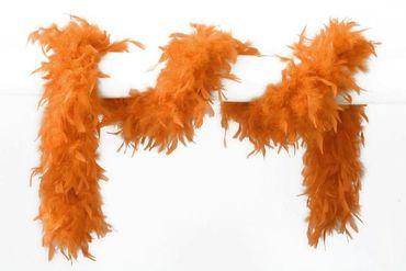 Federboa 180 cm orange 65 gr.