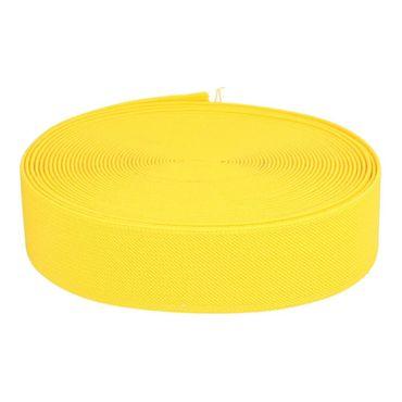 Elastikband 40 mm gelb