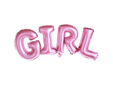 Folienschriftzug Girl pink