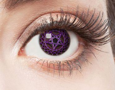 Kontaktlinse Pentagramm – Bild 1