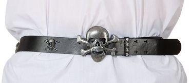 Totenkopfgürtel 120 cm