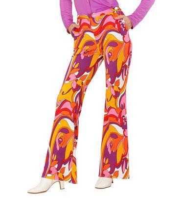 Damen-Hose Orchidee 70er – Bild 1