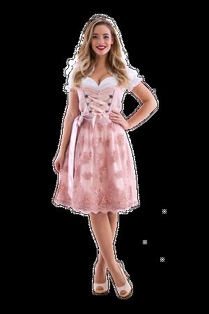 Dirndl de luxe rosa / rosegold
