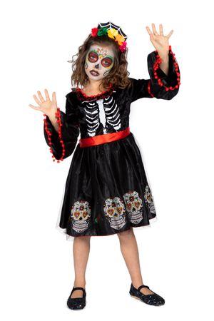 Day of the Dead Kleid – Bild 1