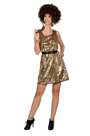 Kleid Disco Queen