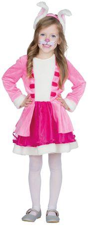 Rosa Hase Kleid – Bild 1