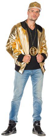 Rapper Jacke gold – Bild 1