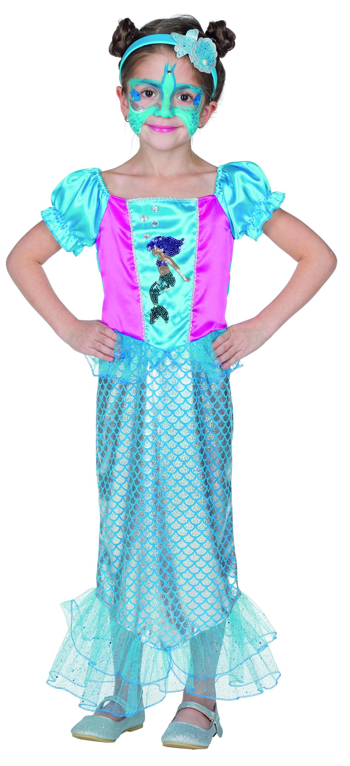 Meerjungfrau Kleid Bubbles bei Party Schlaudt Wiesbaden kaufen