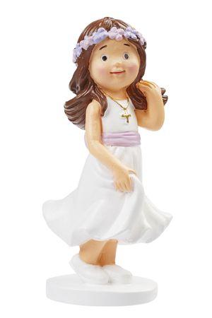 Figur Mädchen Kommunion / Konfirmation