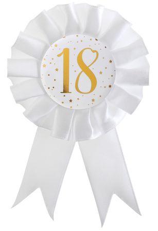 Anstecker / Rosette 18. Geburtstag – Bild 1