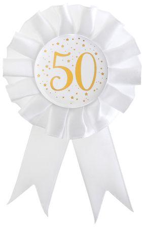 Anstecker / Rosette 50. Geburtstag – Bild 1