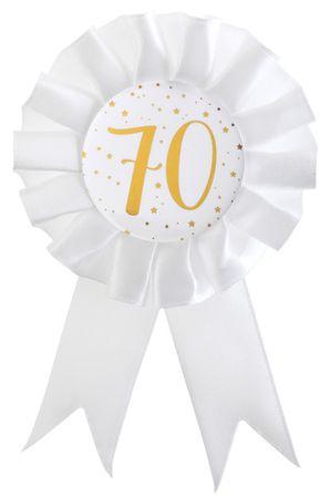 Anstecker / Rosette 70. Geburtstag – Bild 1