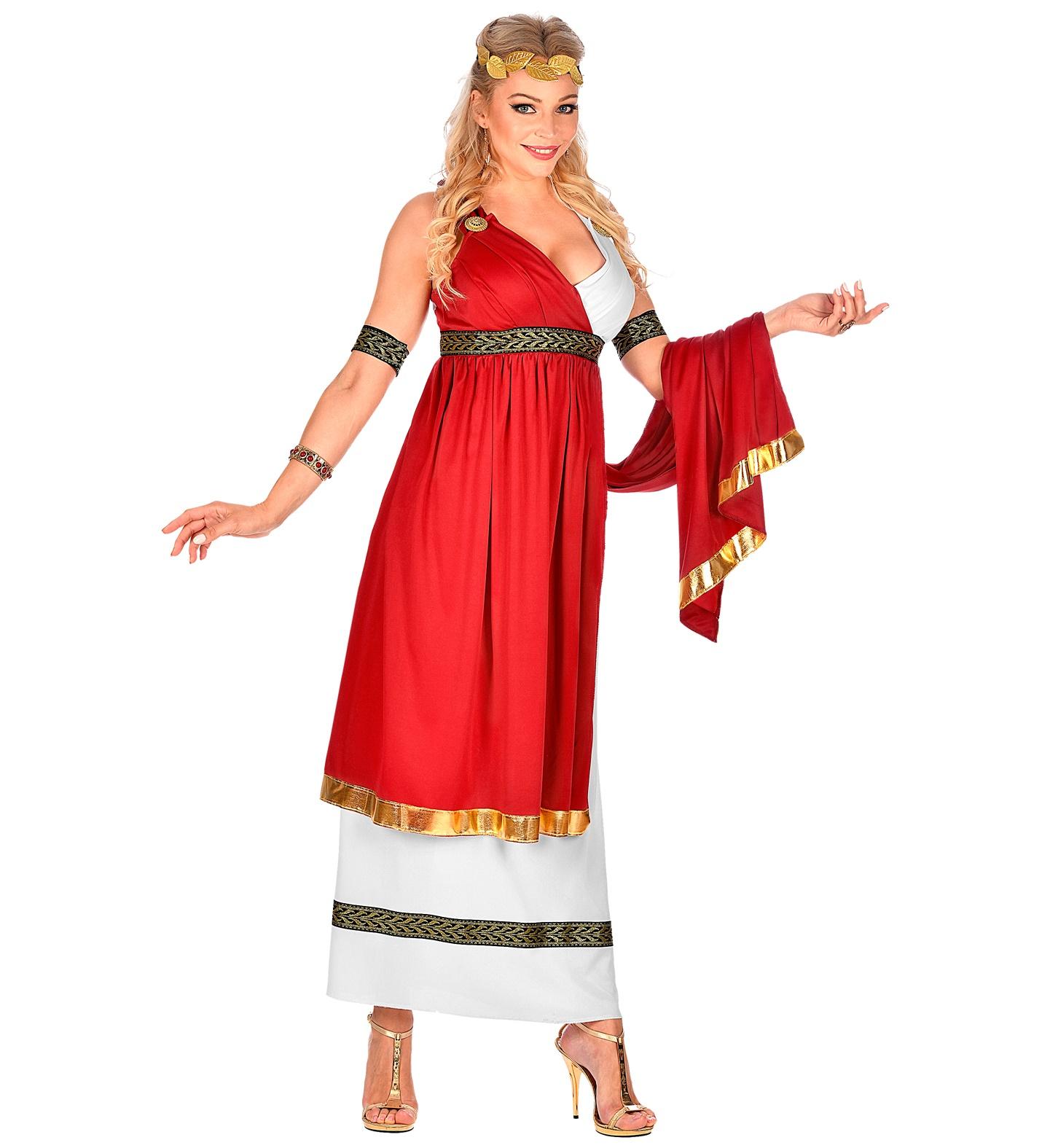 Kleid Römische Kaiserin  Party Schlaudt GmbH  Kostüme  Deko  Stoffe
