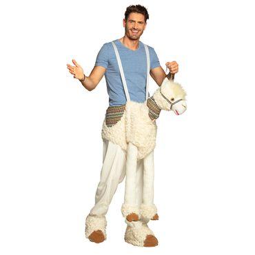 Hosenträger-Kostüm Lama – Bild 3