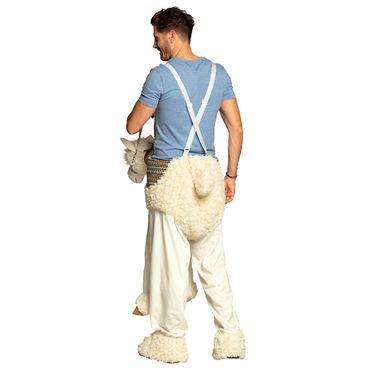 Hosenträger-Kostüm Lama – Bild 1