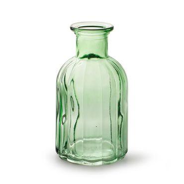 """Glasflasche Vase """"Norinne"""" hellgrün"""