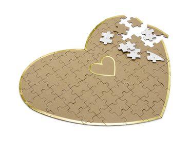 Gästebuch Puzzle Herz – Bild 1