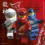 20 Servietten Ninjago 001