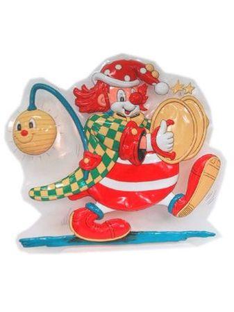 Wanddeko Clown Laterne