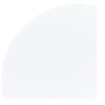 Dunicel Tischdecke rund weiß, 240cm