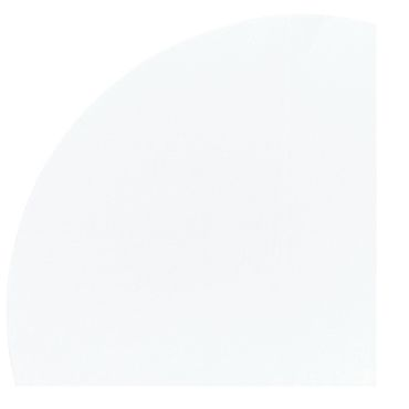 Dunicel Tischdecke rund weiß, 180cm