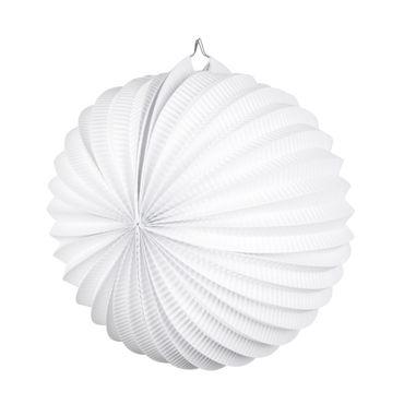 Laterne rund weiß – Bild 1