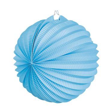 Laterne rund blau – Bild 1