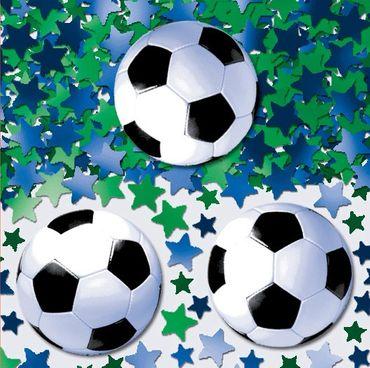Folienkonfetti Fußball
