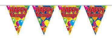 Wimpelkette Happy Birthday