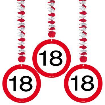 Rotorspiralen Verkehrsschild 18