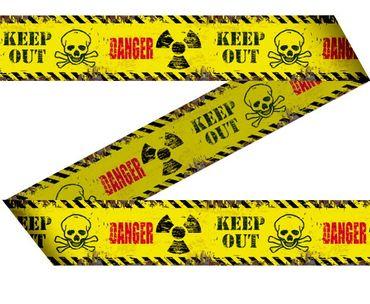 Absperrband Danger