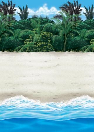Scene Setter Roll Beach