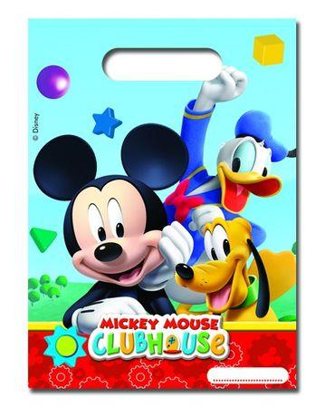 6 Party-Tüten Mickey