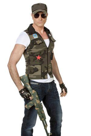 Army-Weste Jake inkl. Kappe