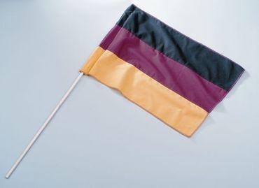 Fahne am Stab Deutschland