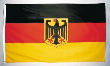 Fahne 90 x 150cm Deutschland mit Adler