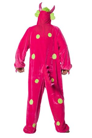Monster-Overall pink – Bild 3