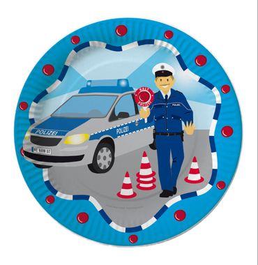 8 Teller Polizei