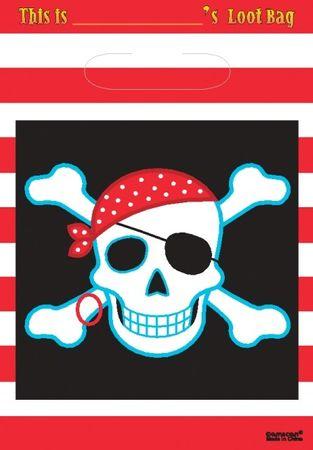 8 Party Bags Pirat